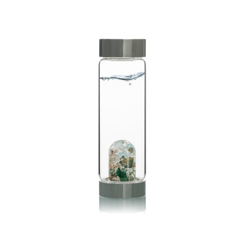 ViA® Trinkflasche mit Edelsteinmischung   Forever Young