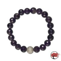 Edelstein Armband Purple Cubic