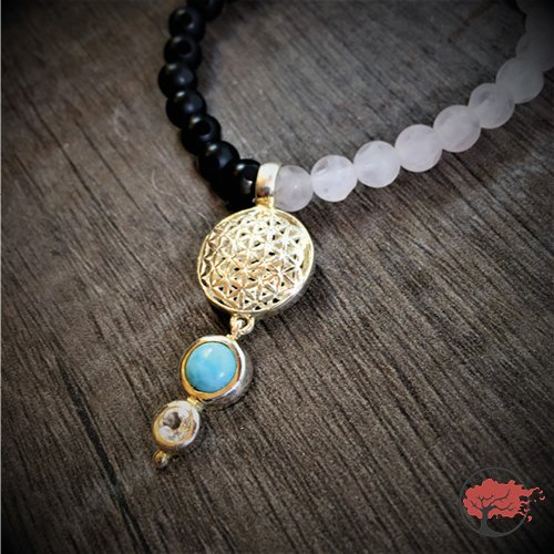 Edelstein Armband Flying Flower of Life