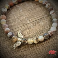 """Edelstein Armband """"African Wings"""""""