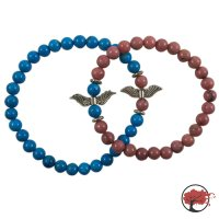"""Partner Armband """"Red Wings"""" & """"Blue Wings"""""""