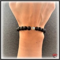 """Edelstein Armband """"Crystal Perl"""""""