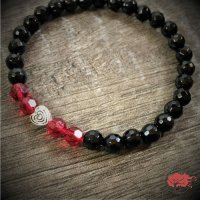 """Edelstein Armband """"Red Crystal"""""""